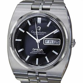 Omega Constellation Chronometer Stainless Steel Automatic 36mm Mens Watch 1970