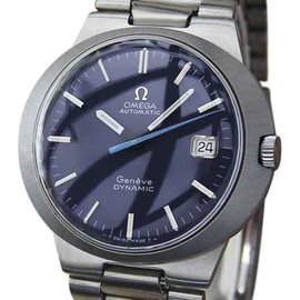 Omega Geneve Dynamic Stainless Steel Automatic 40mm Mens Watch 1960s