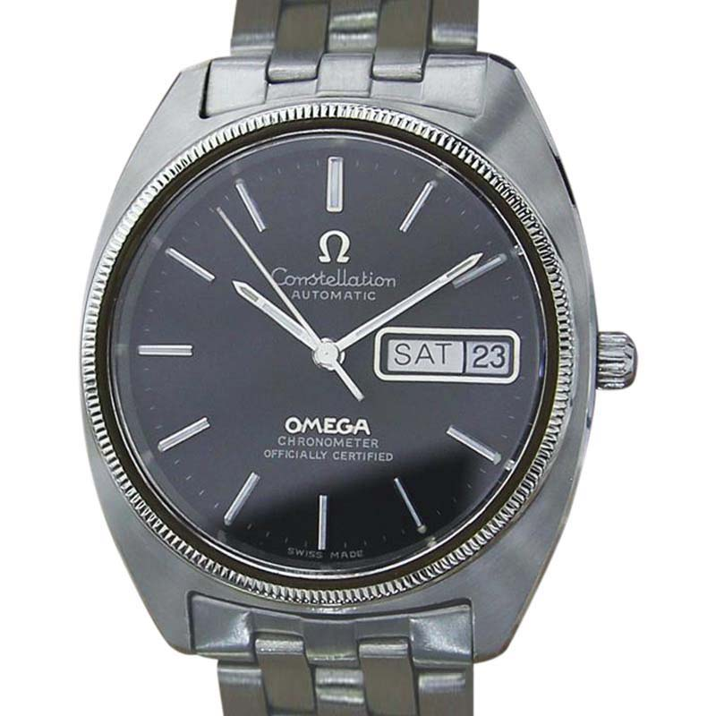 """Image of """"Omega Constellation Stainless Steel Automatic Chronometer Swiss Mens"""""""