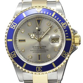 Rolex Submariner 16613 Stainless Steel & 18K Yellow Gold 40.0mm Mens Watch