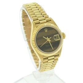 Rolex Datejust President 69178 18K Yellow Gold 26mm Womens Watch