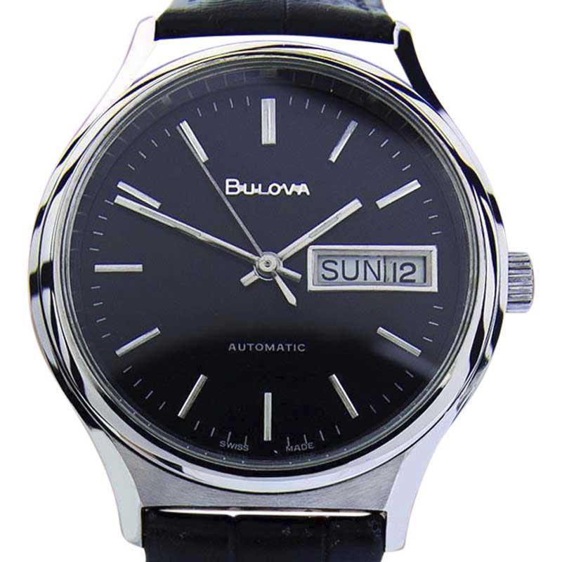 """Image of """"Bulova N8 Auto Stainless Steel 36mm Mens Watch 2000"""""""
