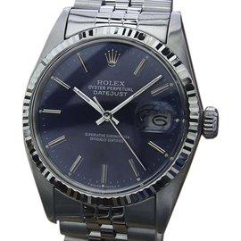 Rolex 16014 18K White Gold Stainless Steel Swiss 36mm Mens Watch 1980