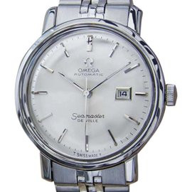 Omega Seamaster DeVille Stainless Steel Automatic 28mm Womens Watch 1960s