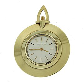 Audemars Piguet 18K Yellow Gold Ultra-Thin Open Face 42mm Unisex Vintage Pocket Watch