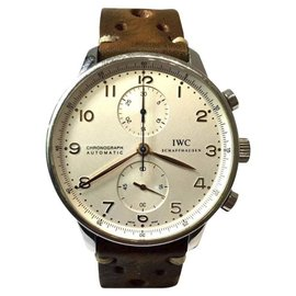 IWC Schaffhausen Stainless Steel Automatic 41mm Mens Watch