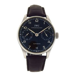 IWC Portugieser 7 Stainless Steel Automatic Classic Dress 42mm Mens Watch