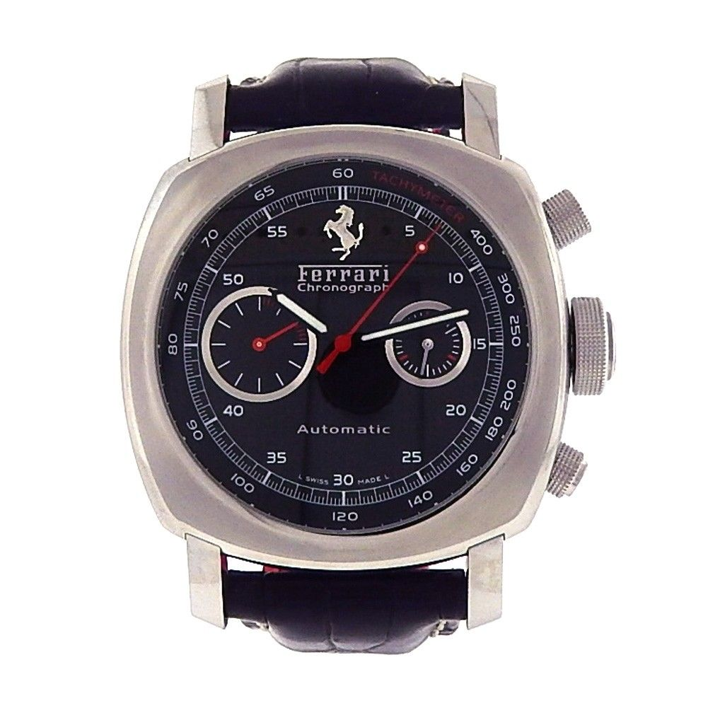 "Image of ""Panerai Ferrari Granturismo Fer00004 Stainless Steel / Leather 45mm"""