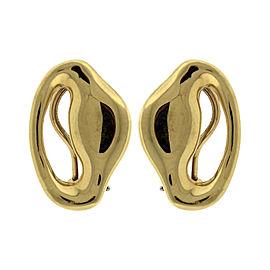 Tiffany & Co. 18K Yellow Gold 'Ear' Earrings