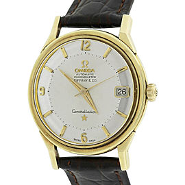 Omega Constellation 14902/3 SC-62 14K Yellow Gold Vintage 34mm Unisex Watch