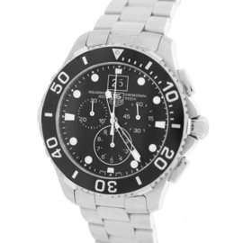 Tag Heuer Aquaracer CAN1010 Stainless Steel Quartz 43mm Mens Watch