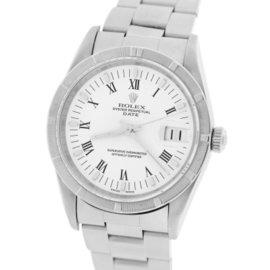 Rolex Datejust 15210 Stainless Steel 34mm Unisex Watch