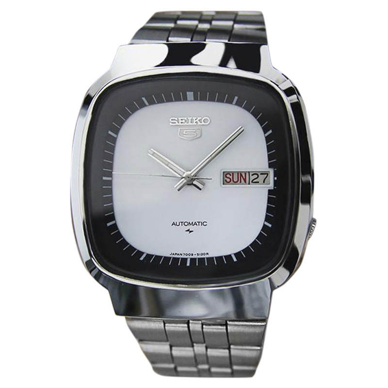 "Image of ""Seiko 5 7009 5110 Stainless Steel Automatic Vintage 37mm Mens Watch"""