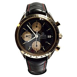 Omega Speedmaster Stainless Steel and 18K Yellow Gold Automatic 39.5mm Mens Watch