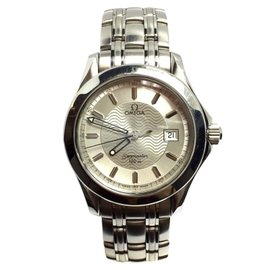 Omega Seamaster Stainless Steel Quartz 38.5mm Mens Watch