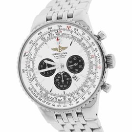 Breitling Navitimer Heritage Flyback A35340 A35350 Stainless Steel 43mm Mens Watch