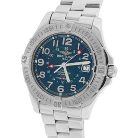 Breitling Colt GMT A32350 Stainless Steel Automatic 40.5mm Mens Watch