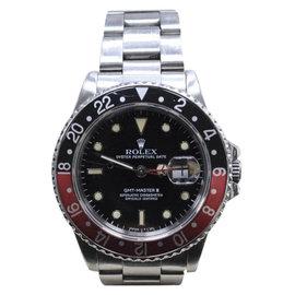 Rolex GMT Master II 16760 Stainless Steel Coke Bezel Automatic 40mm Mens Watch