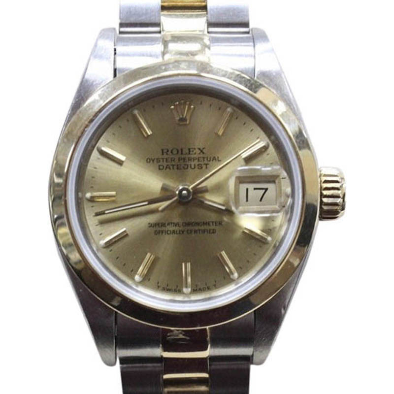 """Image of """"Rolex Datejust 69163 18K Yellow Gold & Stainless Steel Automatic 26mm"""""""