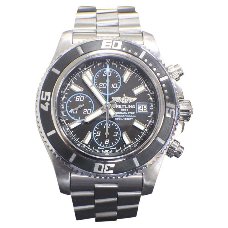 """Image of """"Breitling Superocean Chrono A13341 Stainless Steel 44mm Mens Watch"""""""