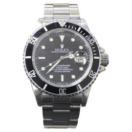 Rolex Submariner 16800 Stainless Steel Automatic Vintage 40mm Mens Watch 1986