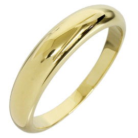 Van Cleef & Arpels 18K Yellow Gold Band Ring Size 10.5