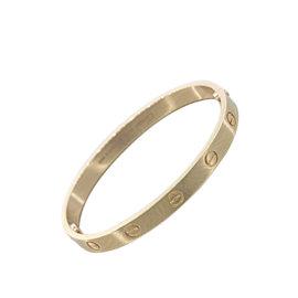 Cartier Love 18K Rose Gold Bracelet Size 17