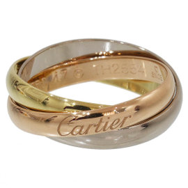 Cartier Trinity de Cartier 18K Rose, White and Yellow Gold Ring Size 4.5