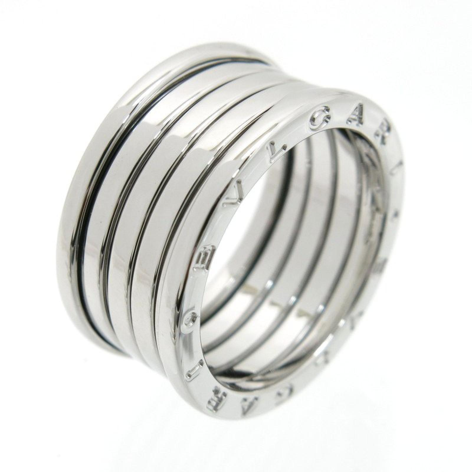"Image of ""Bulgari B-Zero1 18K White Gold Band Ring Size 9.5"""