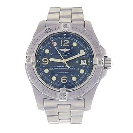 Breitling Superocean A17390 Steelfish Stainless Steel Automatic Diver 44mm Mens Watch