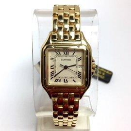 Cartier Panthere 18K Yellow Gold Quartz 27mm Womens Watch