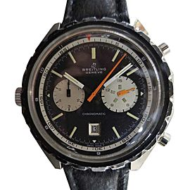 Breitling Chronomatic 7651 Stainless Steel Automatic Vintage 48mm Mens Watch 1970