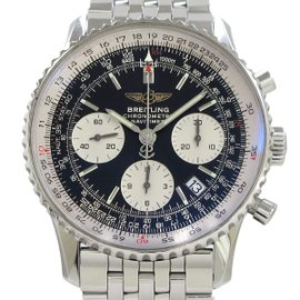 Breitling Navitimer A23322 Stainless Steel Automatic 40mm Mens Watch