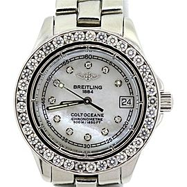Breitling Coltoceane Stainless Steel Watch