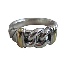 David Yurman Sterling Silver Metro Narrow Curb Ring