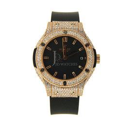 Hublot Classic Fusion 561.PX.1180.RX Rose Gold Diamond 38mm Watch
