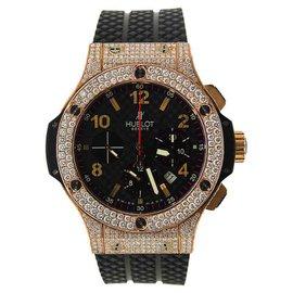 Hublot Big Bang Evolution 301.PX.130.RX Red Gold Diamonds 44mm Mens Watch