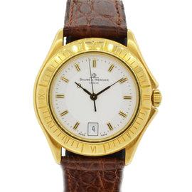 Baume Mercier Malibu 18K Yellow Gold MV045107 Watch