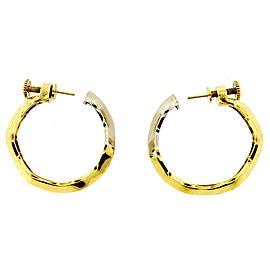 Pomellato 18K Yellow & White Gold Earrings