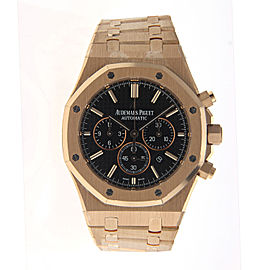 Audemars Piguet 26320OR.OO.1220OR.01 Royal Oak Chronograph Rose Gold Mens Watch