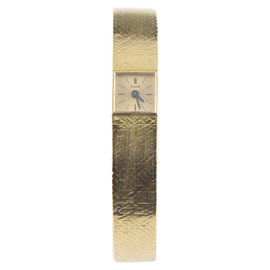 Piaget 18K Yellow Gold Vintage Delicate Hand-Winding Womens Watch