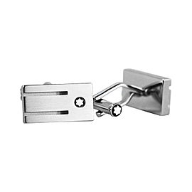 Montblanc Stainless Steel Rings Cufflinks