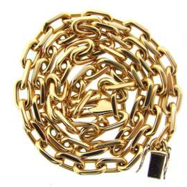 Cartier 18K 750 Yellow Gold Spartacus Chain Necklace Unisex