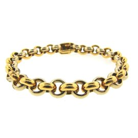 Van Cleef & Arpels 18k Yellow & White Gold Link Bracelet