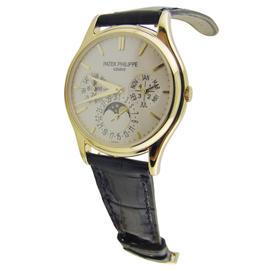 Patek Philippe Complication 18K Yellow Gold 37.2mm Mens Watch