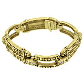 Judith Ripka 18K Yellow Gold 0.5ctw Diamond Bracelet
