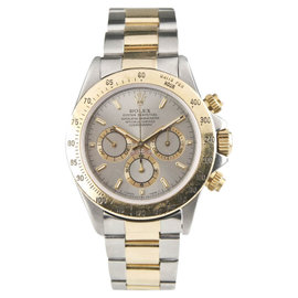 Rolex Daytona Cosmograph 16523 18K Gold & Stainless Steel Mens Watch