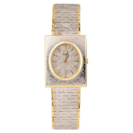 Piaget 18K White & Yellow Gold 25mm Watch
