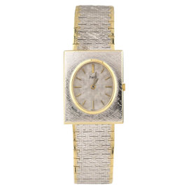 Piaget 18K Two-Tone Gold Hand-Winding 23mm Womens Watch