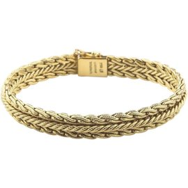 Tiffany & Co. 18K Yellow Gold Woven Mesh Bracelet